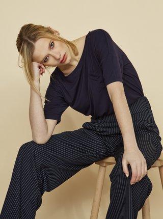 Tmavě modré dámské volné tričko ZOOT Baseline Sarai