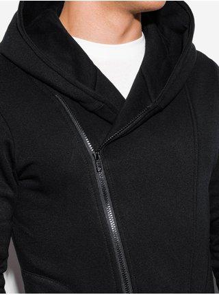 Pánská mikina na zip s kapucí PRIMO - černá