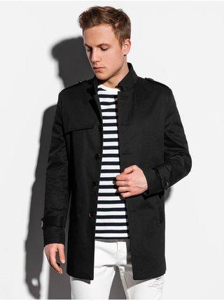 Jarný kabát C269 - čierny
