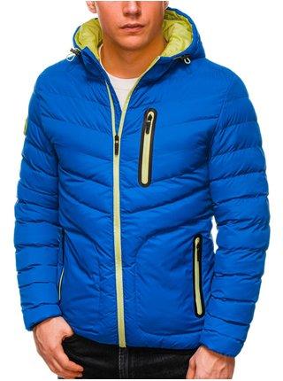 Pánská jarní bunda C356 - nebesky modrá
