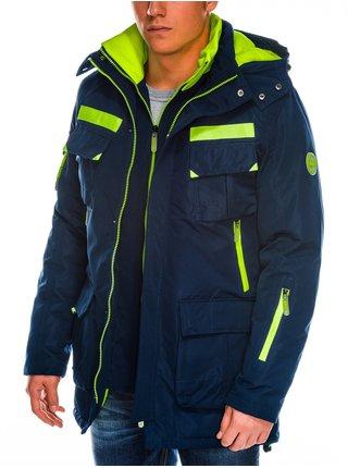 Pánská zimní bunda C379 - námořnická