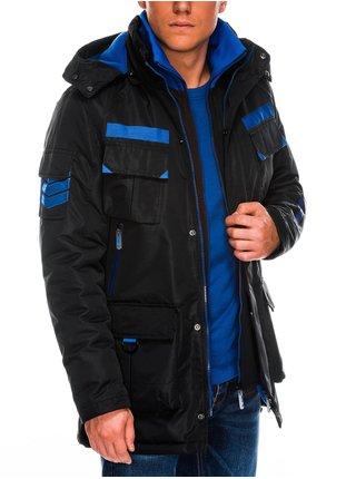 Pánská zimní bunda C379 - černá