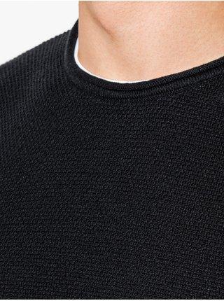 Pánsky sveter E121 - čierny