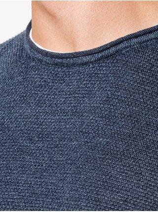 Pánský svetr E121 - žíhaný námořnický