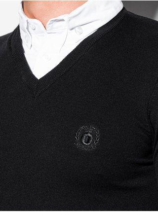 Pánský svetr E120 - černý