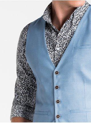 Pánská vesta V45 - blankytná