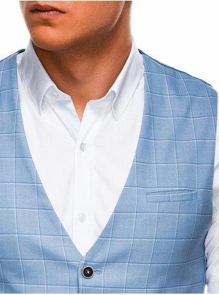 Pánská vesta V48 - nebesky modrá