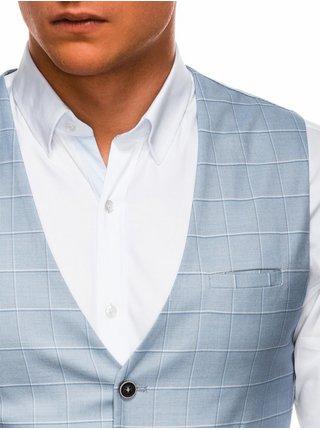 Pánská vesta V48 - blankytná