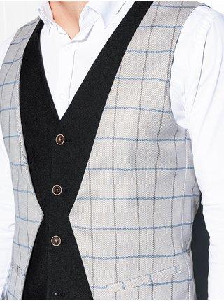Pánská vesta V49 - šedá