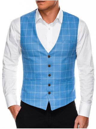 Pánská vesta V50 - tmavě nebesky modrá