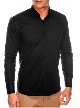 Pánska slim - fit košeľa s dlhým rukávom K504