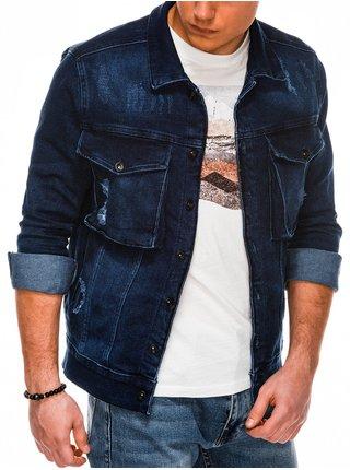Pánská riflová bunda C403 - džínová