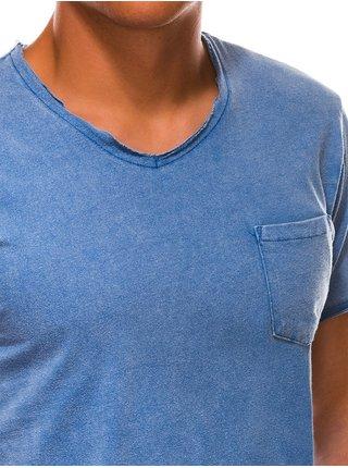 Pánské tričko bez potisku S1037 - námořnické