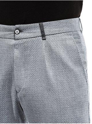 Pánské chinos kalhoty P869 - šedé
