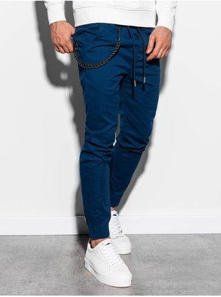 Pánské jogger kalhoty P908 - námořnické
