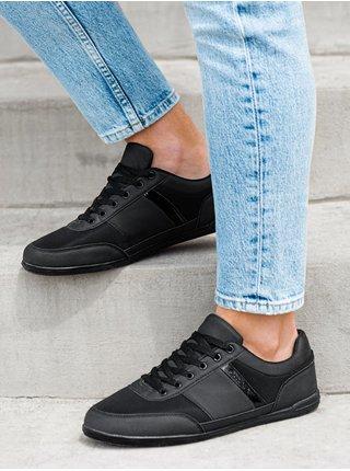 Pánské sneakers boty T338 - černé
