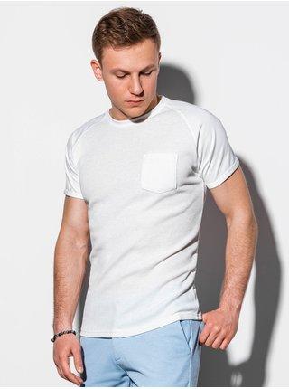 Tričká s krátkym rukávom pre mužov Ombre Clothing