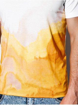 Pánské tričko s potiskem S1190 - bílé