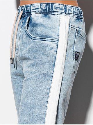 Pánske riflové kraťasy W221 - svetlo džínsové