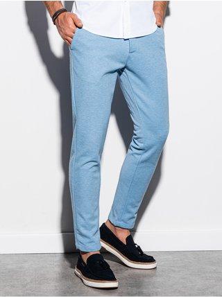 Pánské chinos kalhoty P891 - blankytná