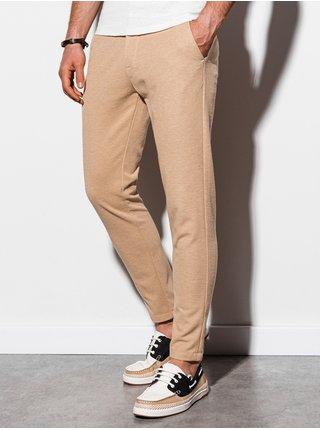 Pánské chinos kalhoty P891 - béžová