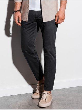 Pánské chinos kalhoty P894 - černé