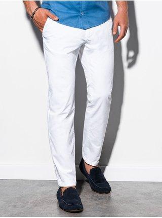 Pánské chinos kalhoty P894 - bílá