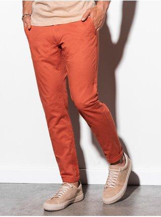 Pánské chinos kalhoty P894 - cihlová