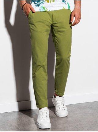 Pánské chinos kalhoty P894 - zelená