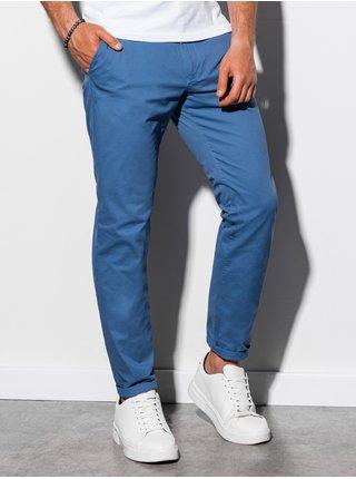 Pánské chinos kalhoty P894 - nebesky modrá