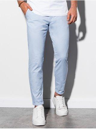 Pánské chinos kalhoty P894 - blankytná