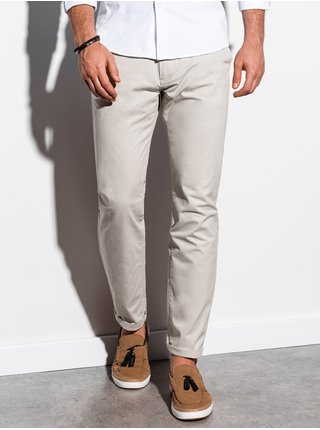 Pánské chinos kalhoty P894 - světle béžová