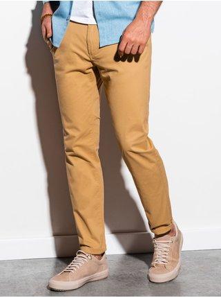 Pánské chinos kalhoty P894 - tmavě béžová