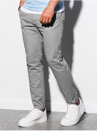 Pánské chinos kalhoty P894 - šedá