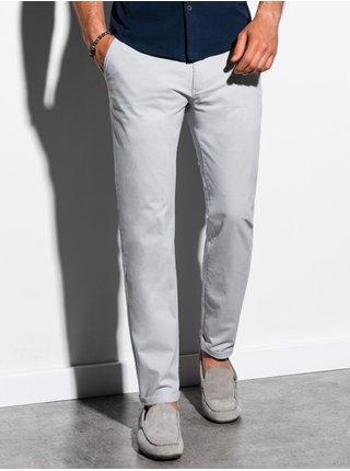 Pánské chinos kalhoty P894 - světle šedá