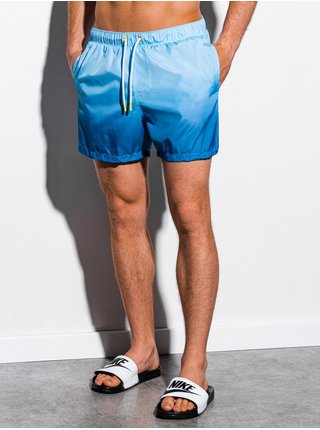 Pánské koupací šortky W250 - blankytná
