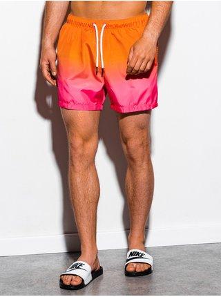 Pánské koupací šortky W250 - oranžová