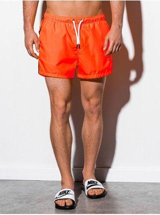 Pánské koupací šortky W251 - oranžová