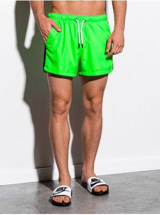 Pánské koupací šortky W251 - zelená