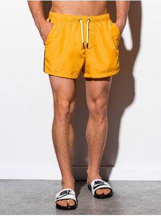Pánské koupací šortky W251 - žlutá