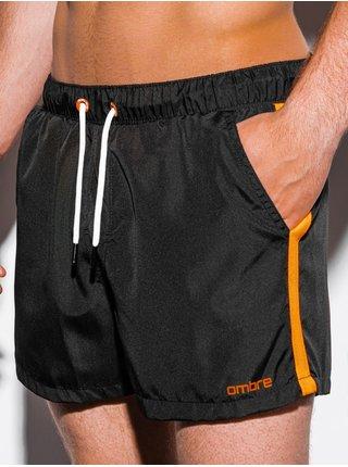 Pánské koupací šortky W251 - černá