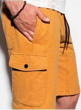 Pánské teplákové kraťasy W225 - žlutá
