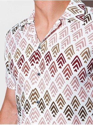 Pánská košile s krátkým rukávem K555
