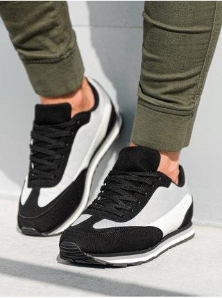 Pánské sneakers boty T349 - černá