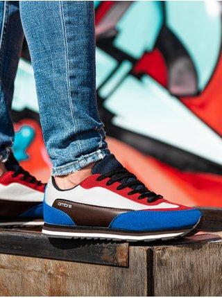 Pánské sneakers boty T349 - červená