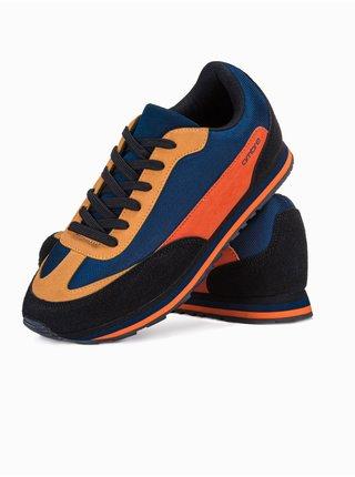Pánské sneakers boty T349 - žlutá