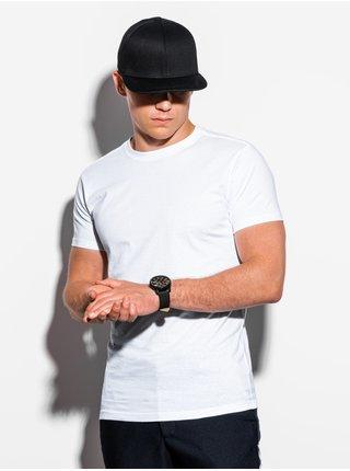 Pánské tričko bez potisku S884 - bílé
