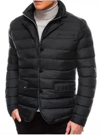 Pánská zimní bunda C445 - černá