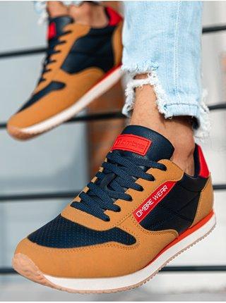 Pánské sneakers boty T310 - hnědá