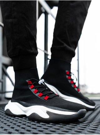 Pánské sneakers boty T355 - černá